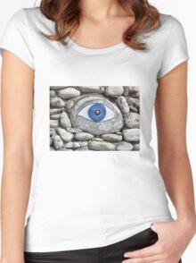 Greek Eye Women's Fitted Scoop T-Shirt
