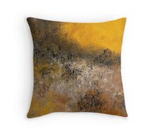 FIRE TRAIL Throw Pillow