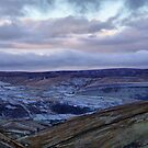 View of Swaledale From Buttertubs Pass by Sandra Cockayne