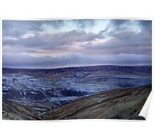View of Swaledale From Buttertubs Pass Poster