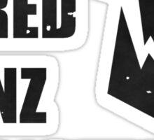 Da Red Wunz go Fastah Sticker