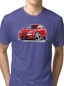Alfa Romeo MiTo Red Tri-blend T-Shirt
