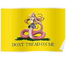 Monster Musume - Miia - DON'T TREAD ON ME Poster