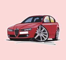 Alfa Romeo 159 Red Kids Tee