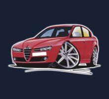 Alfa Romeo 159 Red Kids Tee
