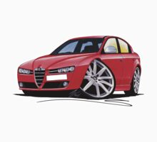 Alfa Romeo 159 Red by Richard Yeomans