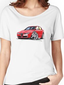 Alfa Romeo 159 Red Women's Relaxed Fit T-Shirt