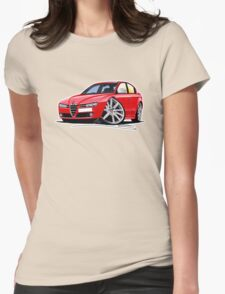Alfa Romeo 159 Red Womens Fitted T-Shirt