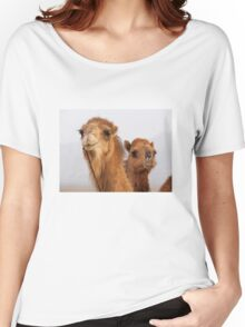Camels Women's Relaxed Fit T-Shirt