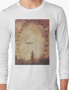 Big Ben in the Eye of London Long Sleeve T-Shirt