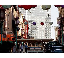 San Francisco Trolley- China Town Photographic Print