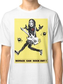 Noface can ROCK OUT! Classic T-Shirt