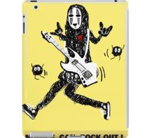 Noface can ROCK OUT! iPad Case/Skin