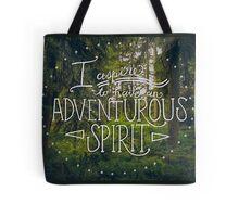 Adventurous Spirit Tote Bag