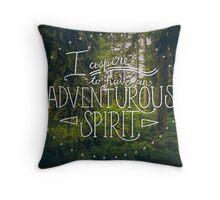 Adventurous Spirit Throw Pillow