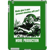 More Production -- World War Two iPad Case/Skin