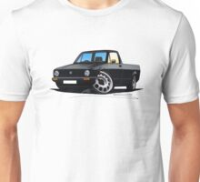 VW Caddy Black Unisex T-Shirt