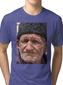 Old Man, Abarqu Tri-blend T-Shirt