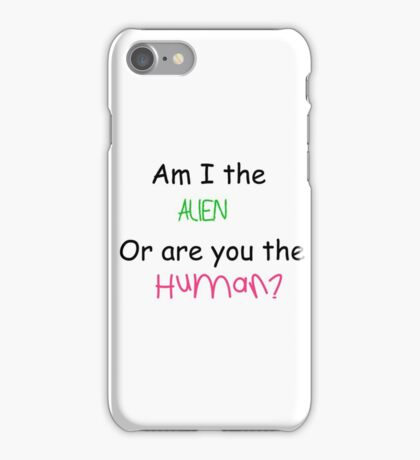 Loaded Question iPhone Case/Skin