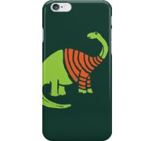 Brontosaurus in a Sweater  iPhone Case/Skin