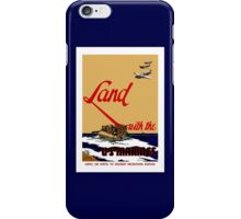Land With The US Marines iPhone Case/Skin