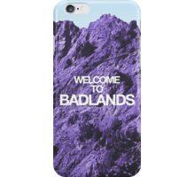 Welcome to Badlands - Halsey iPhone Case/Skin