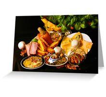 Ravioli, Refinement and Recipes Greeting Card