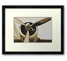 Plane from a Vintage Dream Framed Print