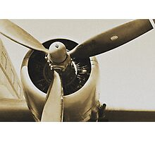 Plane from a Vintage Dream Photographic Print
