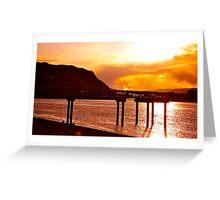 Kamloops Pier Greeting Card