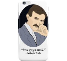 Tesla's SFW Feelings iPhone Case/Skin