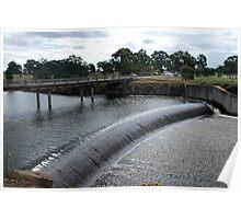 Lake Eppalock Spillway Poster