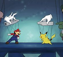 Super Smash Puppets by SuspendedDreams
