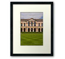 Worcester College Quad Framed Print