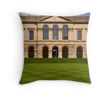 Worcester College Quad Throw Pillow