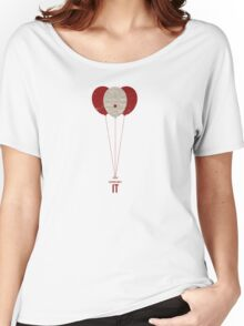 "Vintage Movie Poster Inspired by Stephen King's ""IT"" Women's Relaxed Fit T-Shirt"