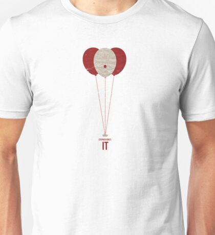 "Vintage Movie Poster Inspired by Stephen King's ""IT"" Unisex T-Shirt"