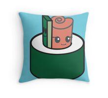 Sushi Snuggle Throw Pillow