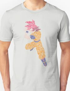 Typography Goku T-Shirt