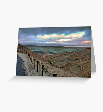 Swaledale from Buttertubs Pass Greeting Card