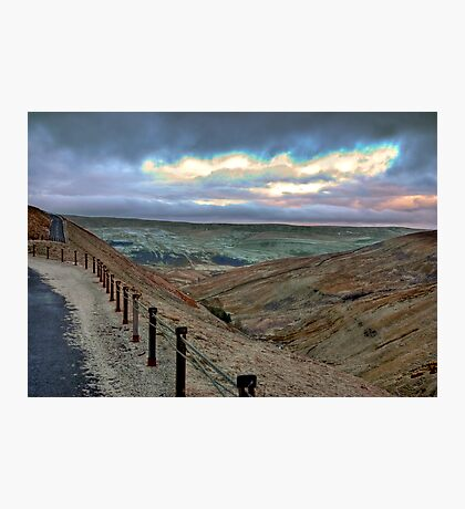 Swaledale from Buttertubs Pass Photographic Print