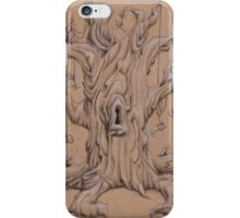 Skeleton Keys and the Tree iPhone Case/Skin