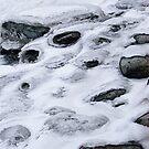 Snowy beach by Bluesrose