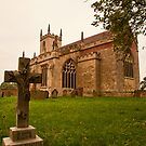 St. Peters Church Doddington Lincs by Ray Clarke
