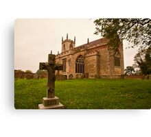 St. Peters Church Doddington Lincs Canvas Print