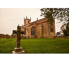 St. Peters Church Doddington Lincs Photographic Print