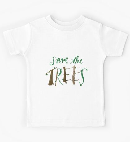 Save The Trees Kids Tee