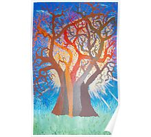 Next stages of TREE OF LIFE painting (Series 2) Poster