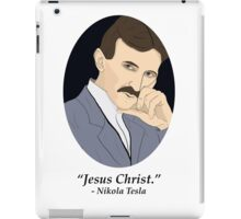 Tesla's Not As SFW Feelings iPad Case/Skin