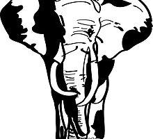 Elephant Illustration by molliewrites